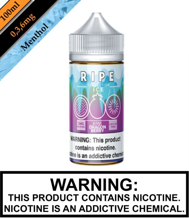 Ripe Collection Ice by Vape 100 Ripe Collection Ice - Kiwi Dragon Berry 100ML