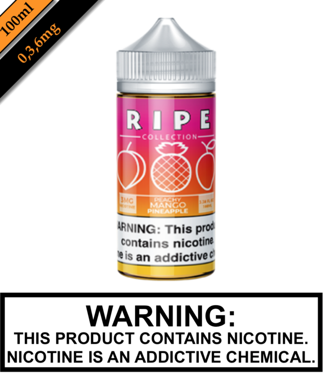 Ripe Collection by Vape 100 Ripe Collection - Peachy Mango Pineapple