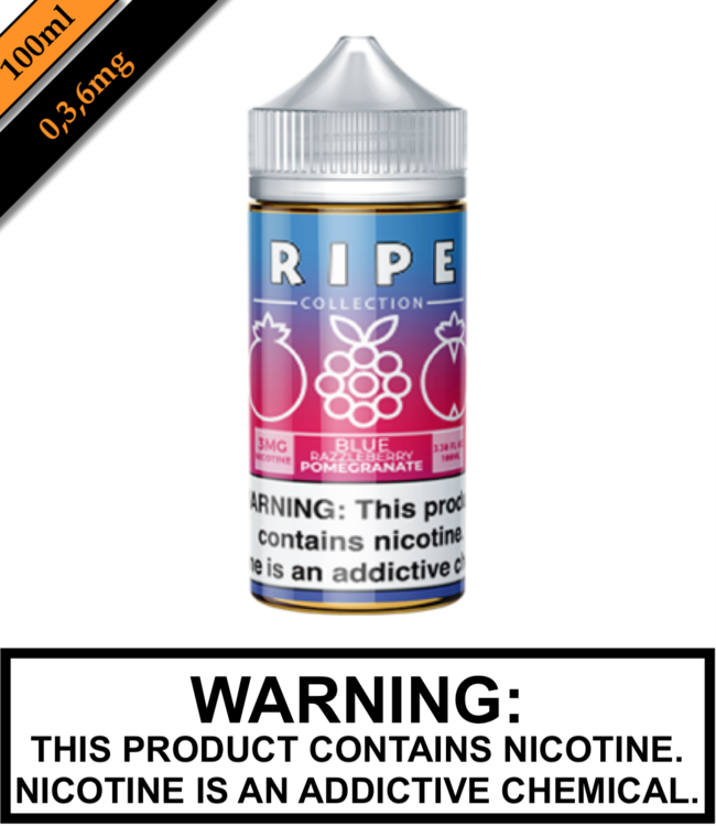 Ripe Collection by Vape 100 Ripe Collection - Blue Razzleberry Pomegranate