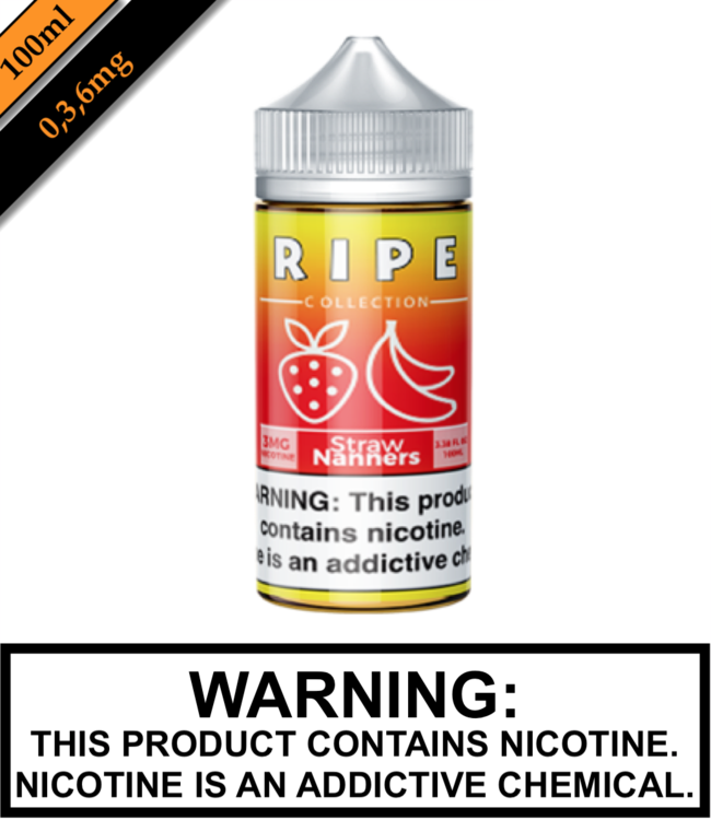 Ripe Collection by Vape 100 Ripe Collection - Straw Nanners 100ML