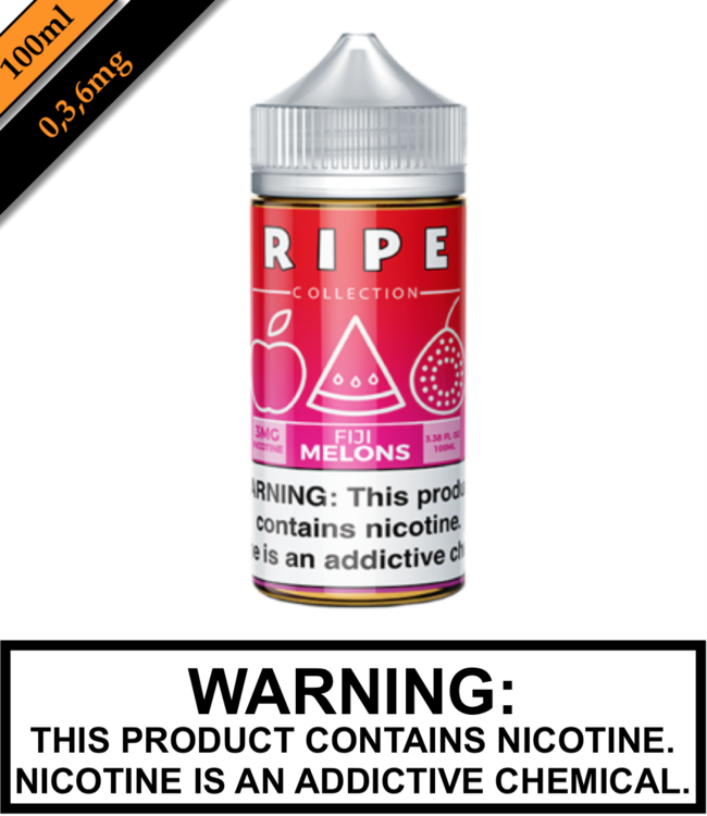 Ripe Collection by Vape 100 Ripe Collection - Fiji Melons 100ML