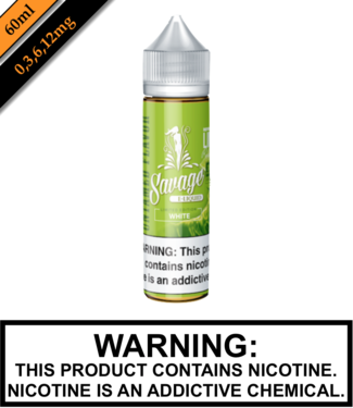 Savage E-liquid Savage E-liquids - White (60ML)