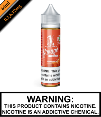 Savage E-liquid Savage E-liquids - Pinkman (60ML)