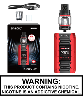 Smok Smok - E Priv 230W TC Kit with TFV12 Prince 8ML Tank