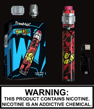 Freemax - Twister 80W Starter Kit with 5ML Fireluke Mesh 2 Tank
