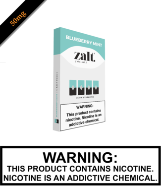 Zalt Zalt - Blueberry Mint Replacement Pods