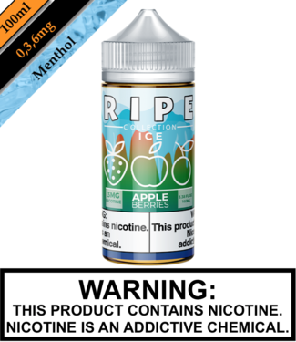 Ripe Collection Ice by Vape 100 Ripe Collection Ice - Apple Berries 100ML