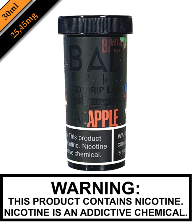 Bad Drip Labs Bad Salt By Bad Drip Labs - Bad Apple (30ML)