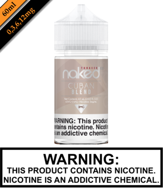 Naked 100 Tobacco Naked 100 Tobacco - Cuban Blend (60ML)