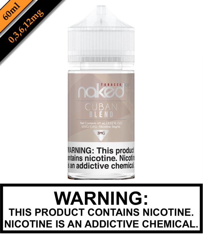 Naked 100 Tobacco Naked 100 Tobacco - Cuban Blend (60ML)
