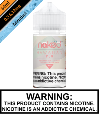 Naked 100 Ice Naked 100 Ice - Hawaiian POG Ice 60ML
