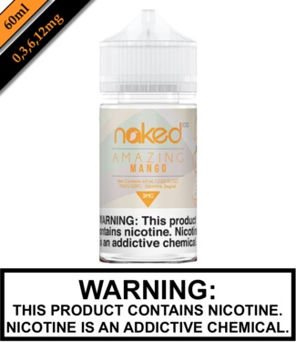 Naked 100 Fruit Naked 100 Fruit - Mango (Amazing Mango) 60ML