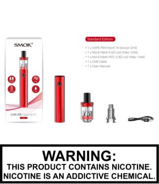 Smok Smok - Vape Pen Nord 19 1300mAh 2ML Kit