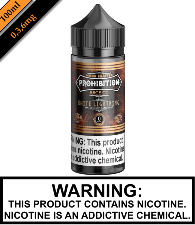 Prohibition Juice Co Prohibition Juice Co - White Lightning 100ML