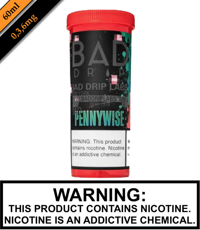 Bad Drip Labs Bad Drip Labs - Pennywise (60ML)
