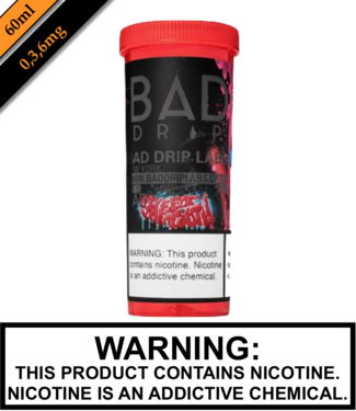 Bad Drip Labs Bad Drip Labs - Sweet Tooth 60ML