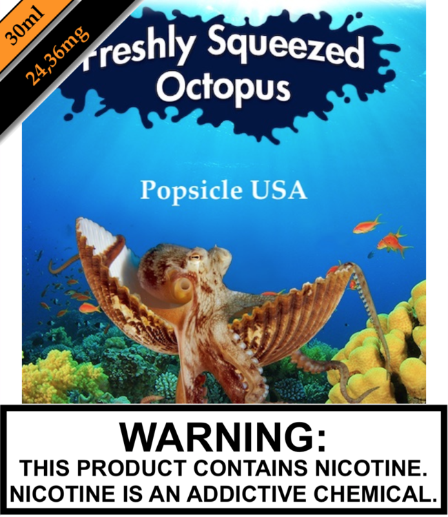Freshly Squeezed Octopus Salts Freshly Squeezed Octopus Salts - Popsicle USA 30ML