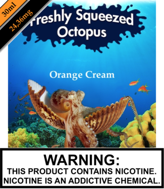 Freshly Squeezed Octopus Salts Freshly Squeezed Octopus Salts - Orange Cream