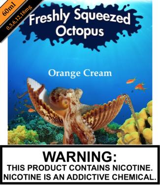 Freshly Squeezed Octopus Freshly Squeezed Octopus - Orange Cream
