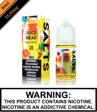 Juice Head Salts Juice Head Salts - Pineapple Grapefruit (30ML)