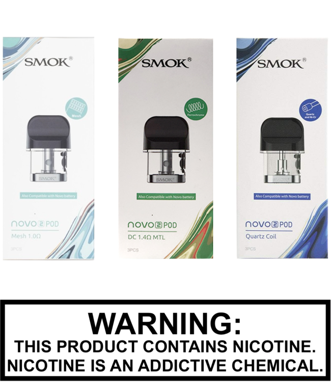 Smok Smok - Novo 2 Replacement Pods