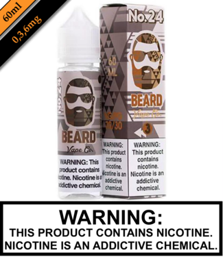 Beard Vape Co Beard Vape Co - No 24 (60ML)