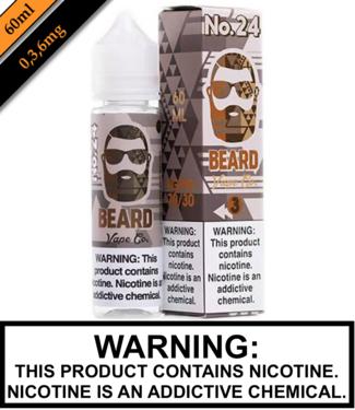Beard Vape Co Beard Vape Co - No 24 60ML