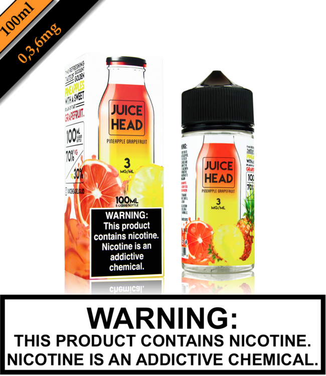 Juice Head Juice Head - Pineapple Grapefruit 100ML