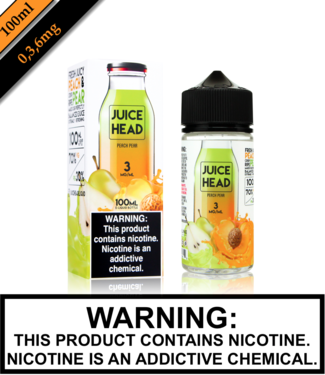 Juice Head Juice Head - Peach Pear (100ML)