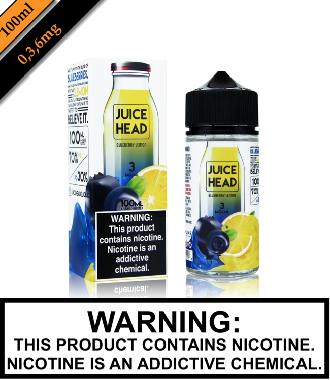 Juice Head Juice Head - Blueberry Lemon 100ML