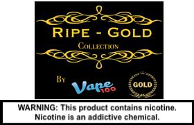 Ripe Gold by Vape 100