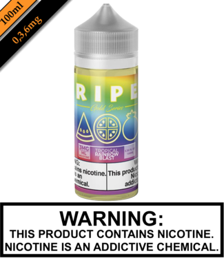 Ripe Gold by Vape 100 Ripe Gold - Tropical Rainbow Blast 100ML