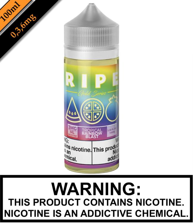 Ripe Gold by Vape 100 Ripe Gold - Tropical Rainbow Blast 100ML