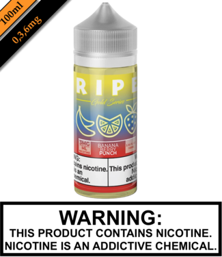 Ripe Gold by Vape 100 Ripe Gold - Banana Berry Punch 100ML