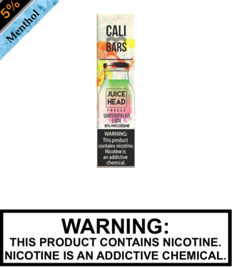 Juice Head FREEZE Disposable by Cali Bar Juice Head FREEZE Disposable by Cali Bar - Watermelon Lime FREEZE