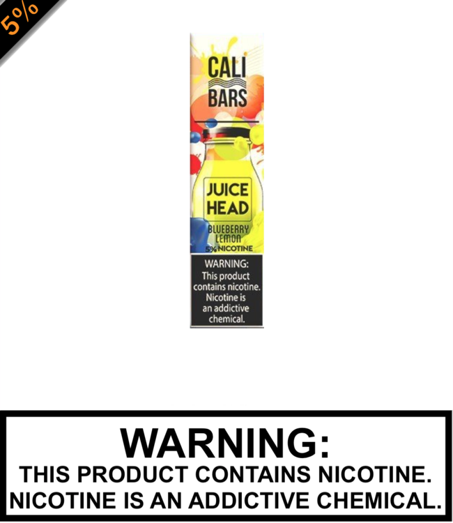 Juice Head Disposable by Cali Bar Juice Head Disposable by Cali Bar - Blueberry Lemon