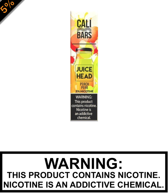 Juice Head Disposable by Cali Bar Juice Head Disposable by Cali Bar - Peach Pear