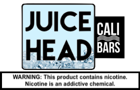 Juice Head FREEZE Disposable by Cali Bar