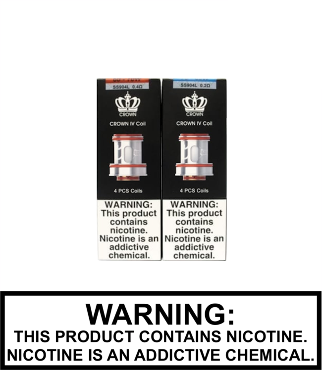 Uwell Uwell - Crown 4 IV Replacement Coils