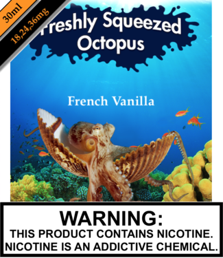 Freshly Squeezed Octopus Salts Freshly Squeezed Octopus Salts - French Vanilla (30ML)