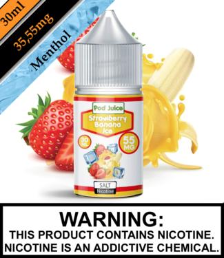 Pod Juice Pod Juice - Strawberry Banana Ice (30ML)