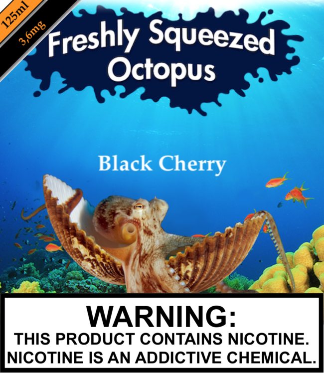 Freshly Squeezed Octopus Freshly Squeezed Octopus - Black Cherry (125ML)