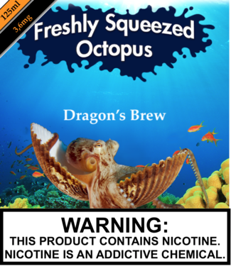 Freshly Squeezed Octopus Freshly Squeezed Octopus - Espresso 'N Creme (Previously Dragon's Brew) (125ML)