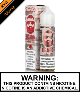 Beard Vape Co Beard Vape Co - No. 5 (60ML)
