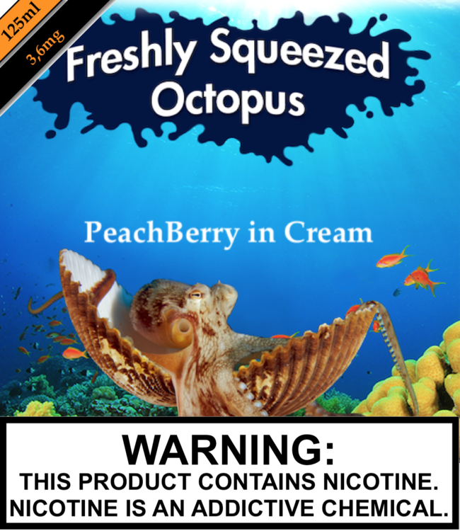 Freshly Squeezed Octopus Freshly Squeezed Octopus - PeachBerry in Cream (125ML)