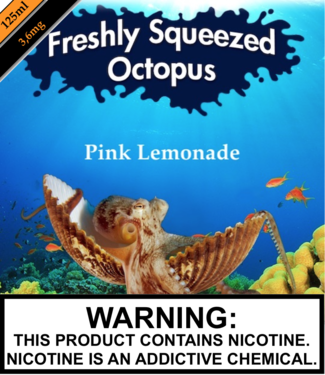Freshly Squeezed Octopus Freshly Squeezed Octopus - Pink Lemonade (125ML)