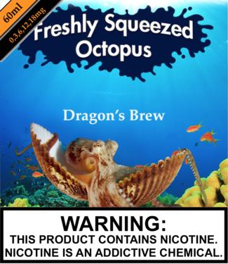 Freshly Squeezed Octopus Freshly Squeezed Octopus - Espresso 'N Creme (Previously Dragon's Brew) (60ML)