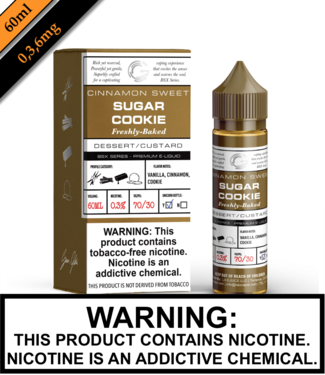 BSX by Glas (TFN) - Sugar Cookie (60ML)