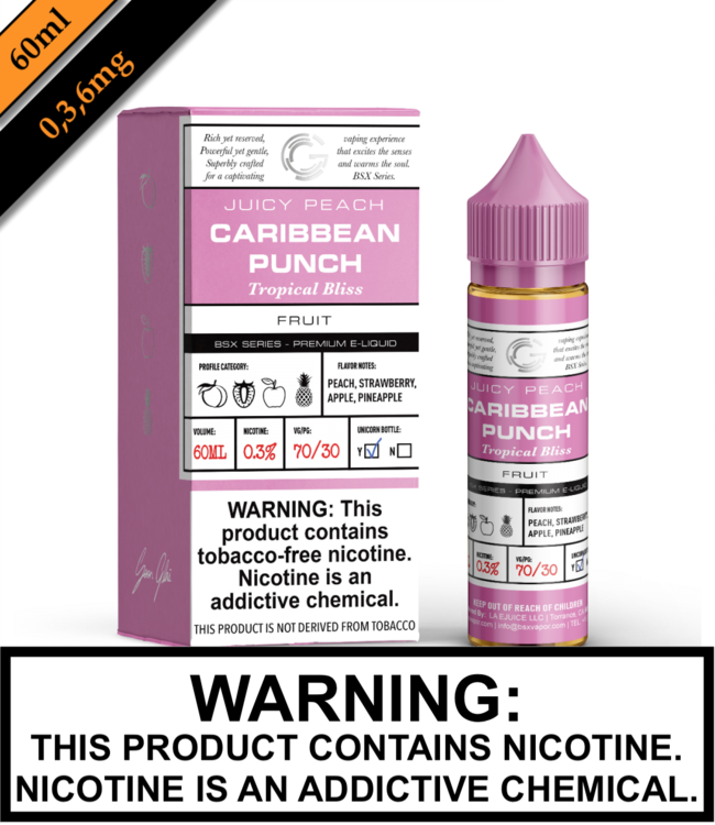 BSX by Glas (TFN) - Caribbean Punch (60ML)