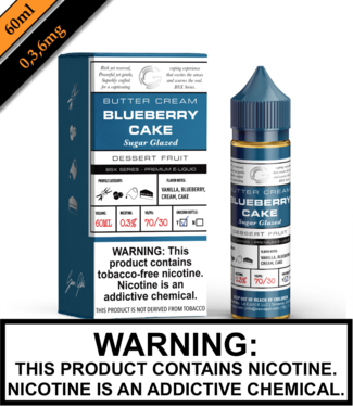 BSX by Glas (TFN) - Blueberry Cake (60ML)